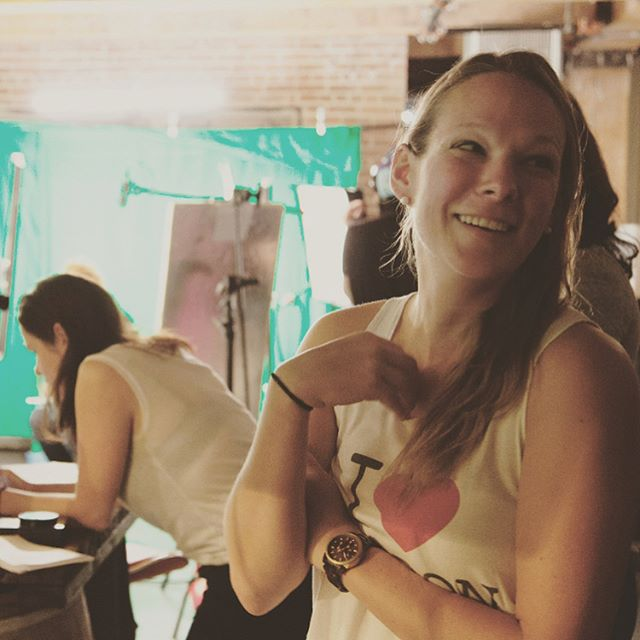 Puttin' the IL in FILM all day EVERY DAY @kduffshannon and @ajoymc #femalefilmmakerfriday #fbf #webseries