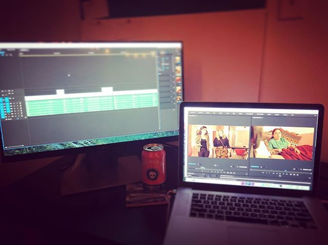 Some after work editing #lastscene #umbrella #pilot #cidergeist