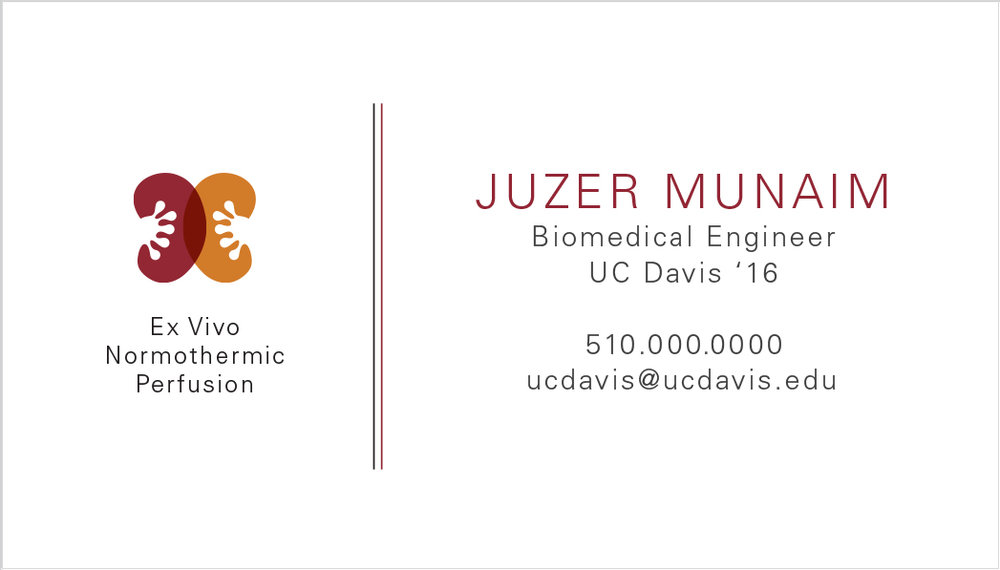 Evnp brand print design isabel liaw professional business cards are essential for the uc davis biomedical engineering symposium an event where each team presents their creationsinventions colourmoves