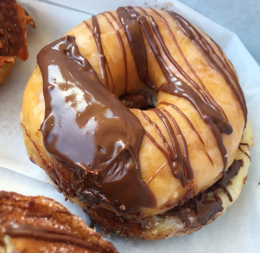 SK's Donuts and Croissants, Nutella Glazed
