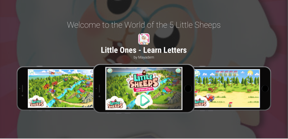 5 Little Sheeps Mobile Game - Need a brush up on your letters, numbers and shapes? I'm very excited to have voiced Wendy the Sheep in a series of Little Ones mobile games! Wendy is a friendly, adventurous, clumsy little sheep. And most importantly, she LOVES cows!