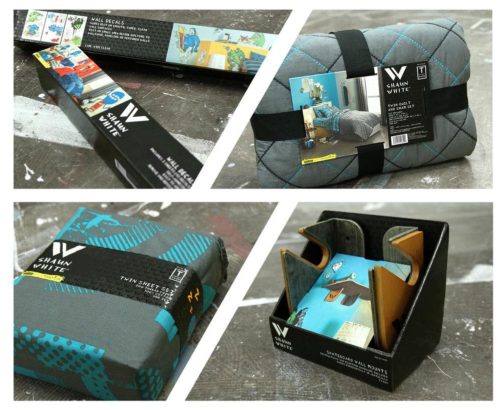 Shaun White Packaging Sarah B Anderson