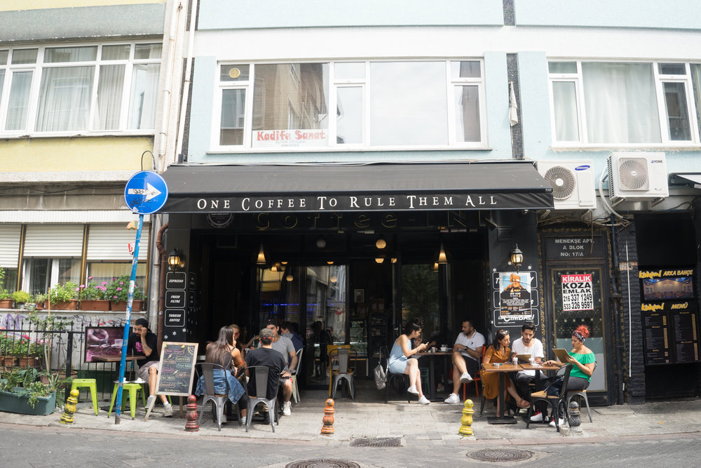 There is also a plethora of coffee shops over in Kadiköy.