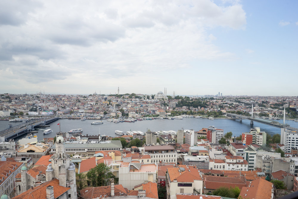 After eleven trips to Istanbul, I finally made it to the top of the Galata Tower.