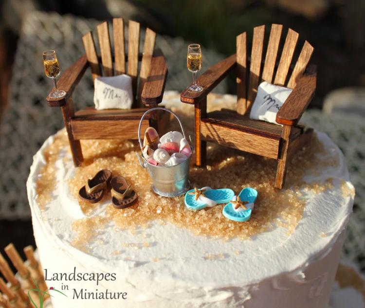 FANTASTIC Beach Cake Topper