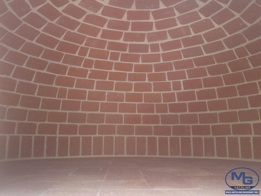 brick oven red brick oven mg antolino masonry inc