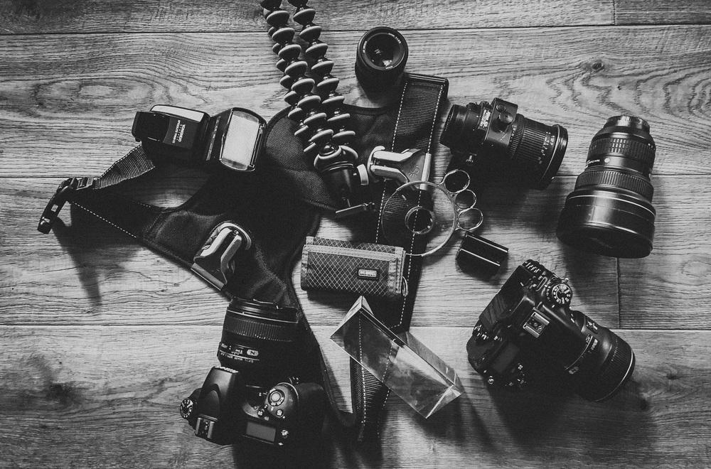Ausrüstung Hochzeitsfotograf Vorbereitung
