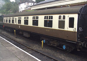 Example of a British Rail Mark 1 suburban (We are awaiting a picture of the actual carriage).
