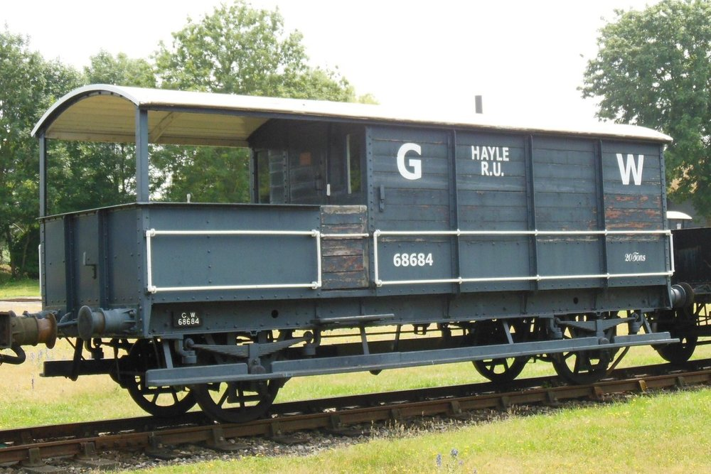 An example of a Toad brake van