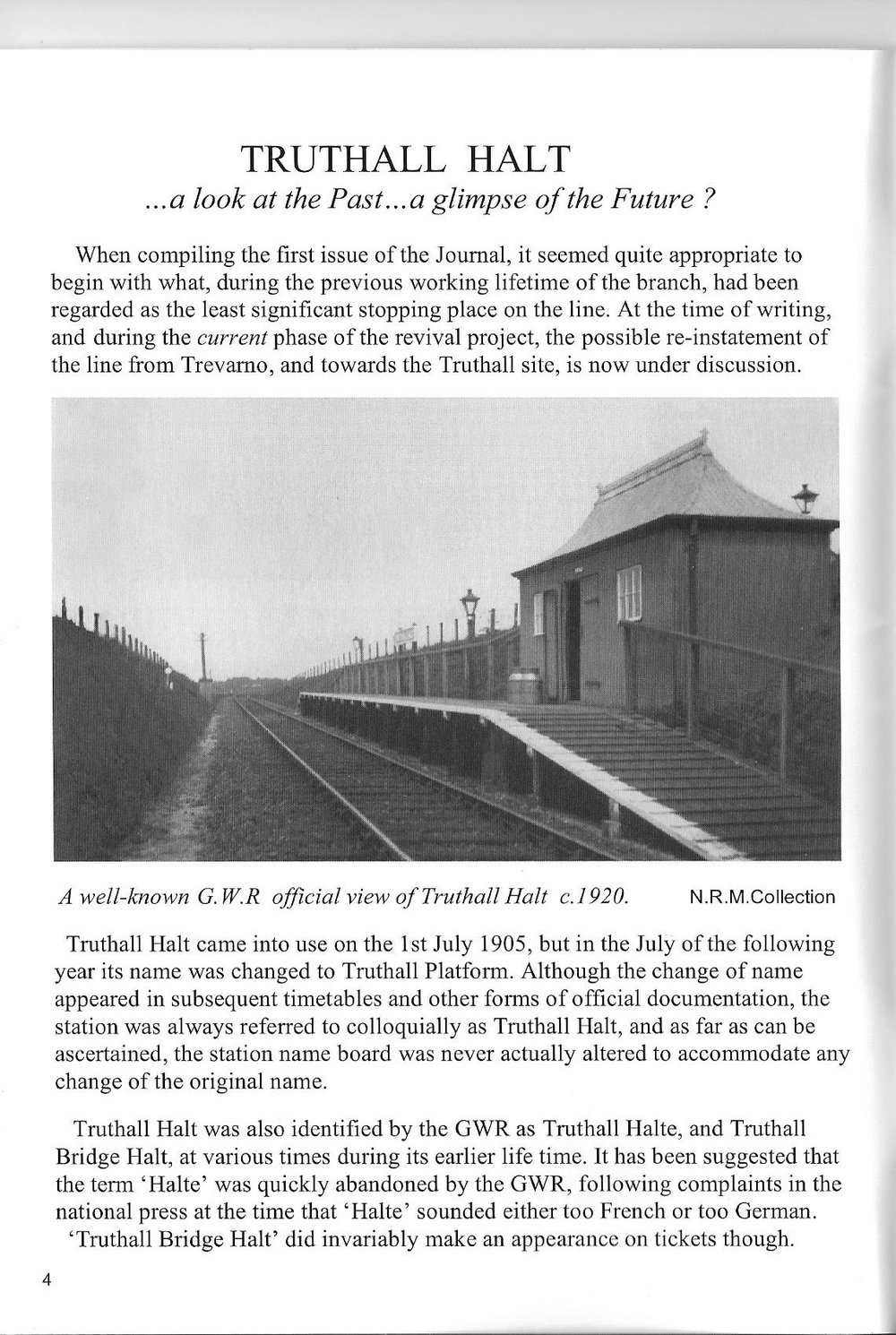 2007 Helston Railway Journal - Truthall 1.jpg