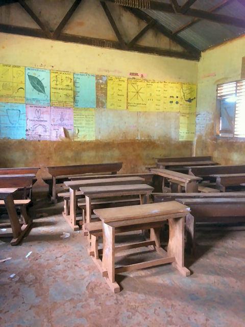 A class room