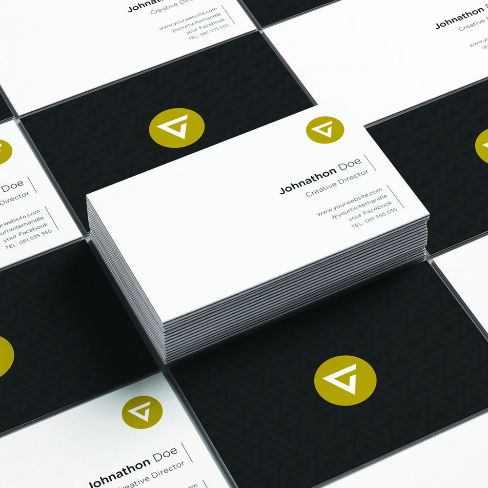 2 print ready business card designs ai colourmoves
