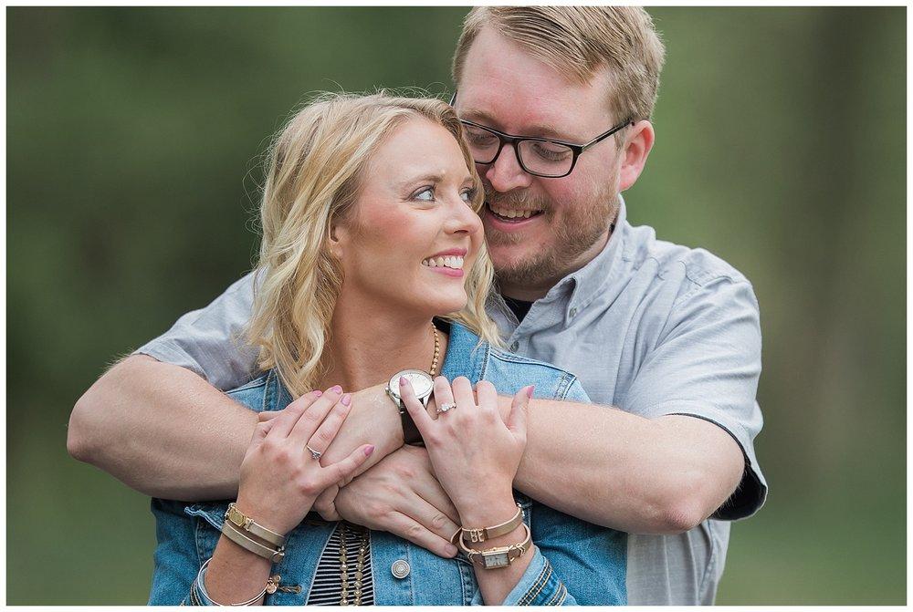 Sioux Falls Wedding - South Dakota wedding - Palisades Park Engagement