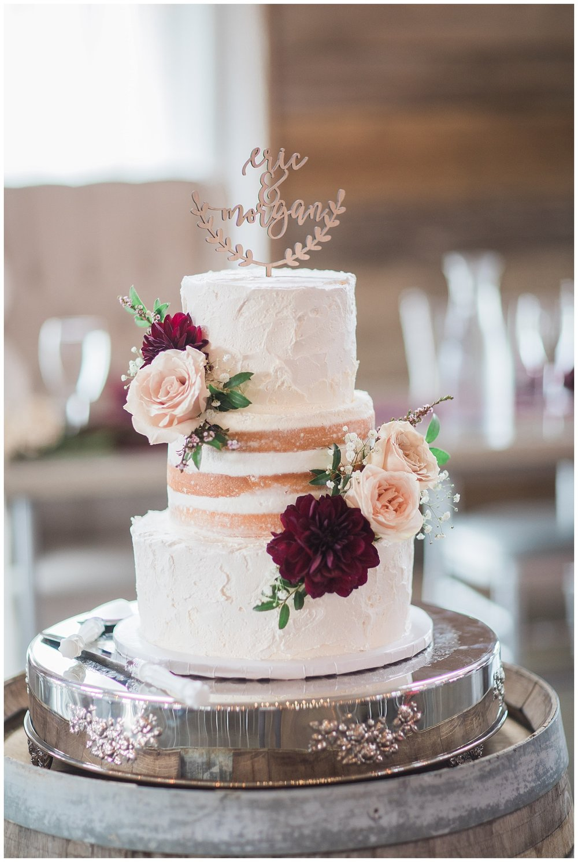 Couple: Morgan and Eric - Baker: The Cake Lady. Sioux Falls, South Dakota