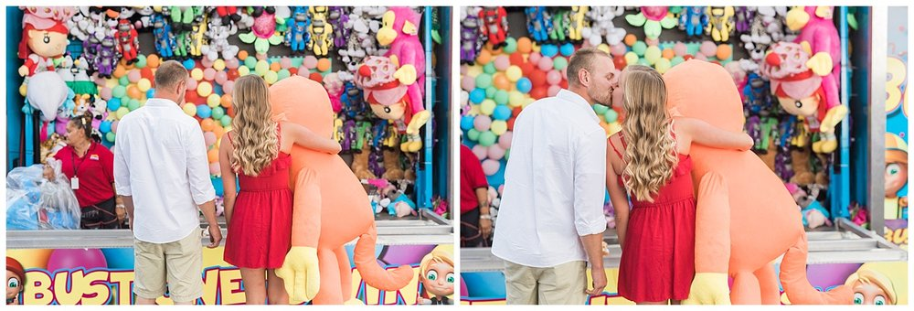 Romantic Sioux Falls Fair Engagement