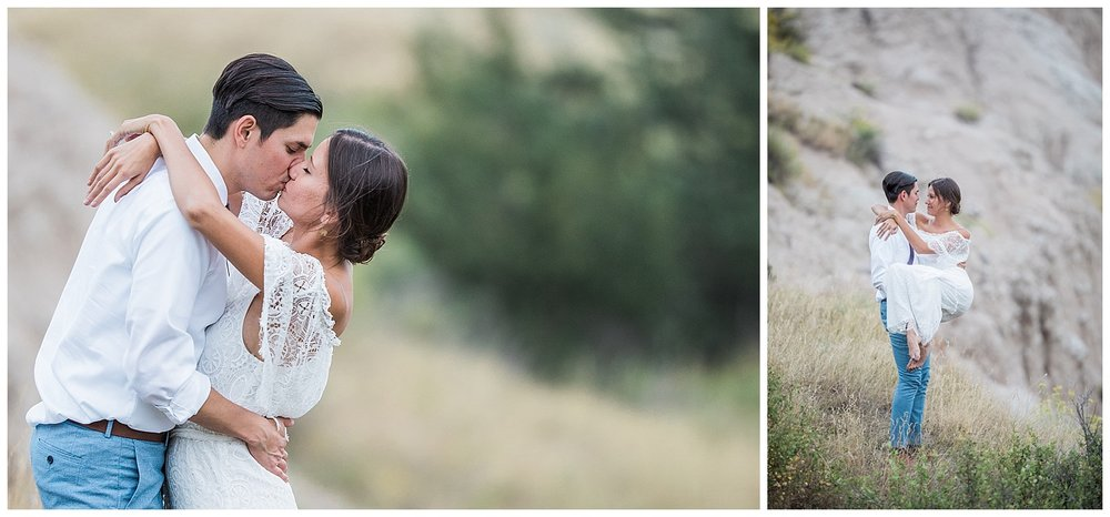 Engagement in the Badlands