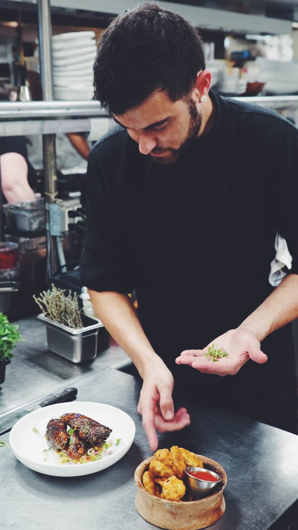 Chef Chris DeMuth, Sous Chef, Republic Tavern