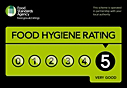 5*Food Hygiene Rating