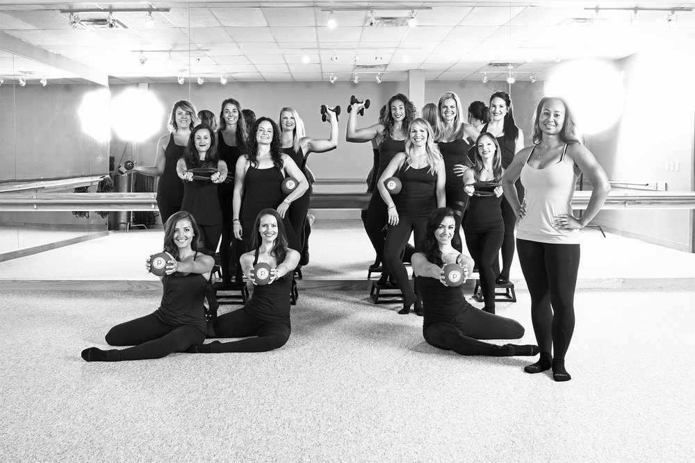 "The Pure Barre Austin Team, featured in  Austin Monthly Magazine' s "" 2016 Faces of Austin """