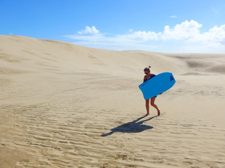 New Zealand Sand Surfing