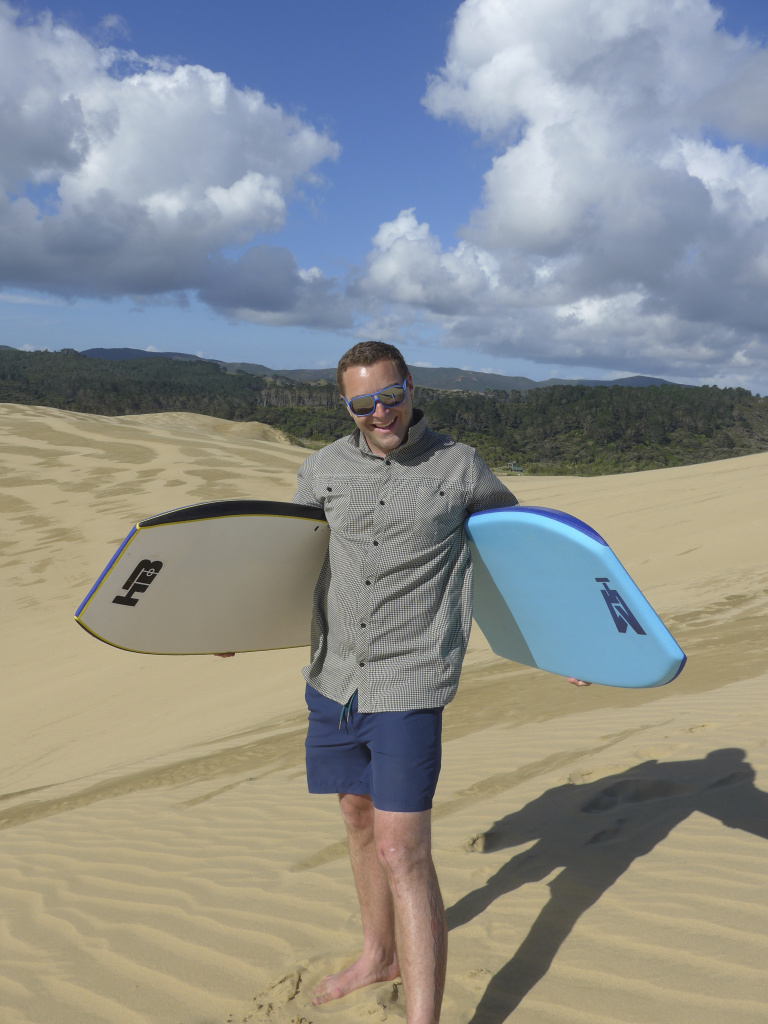 New Zealand Sand Surfing