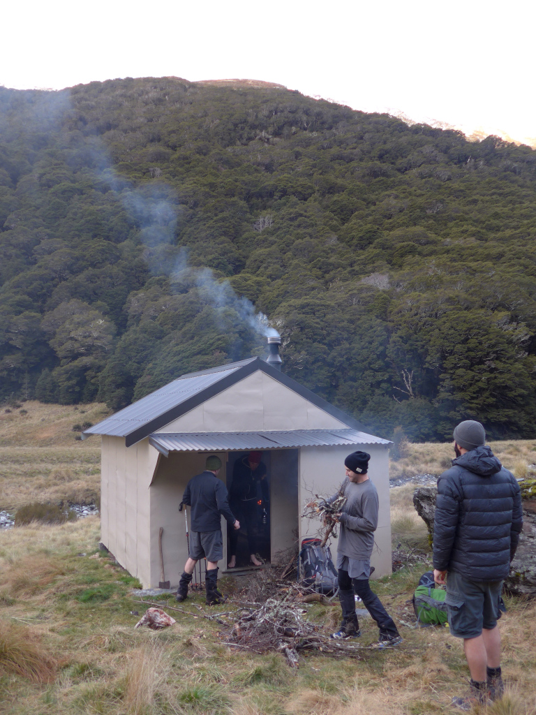 Cameron Flat Hut New Zealand