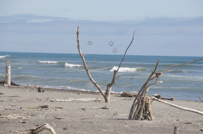 Hokitika Beach Side