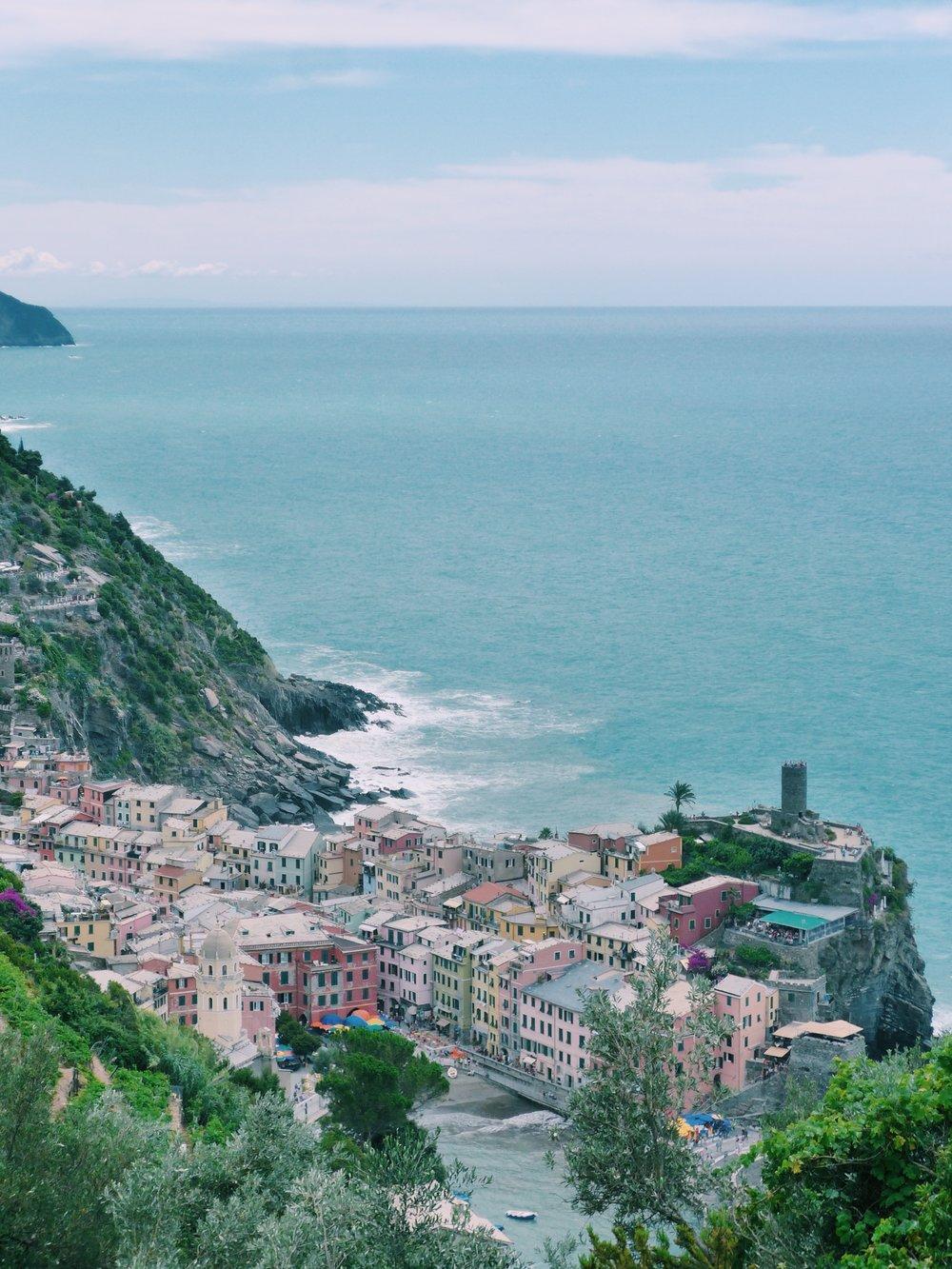 Cinque Terre Travel Blog