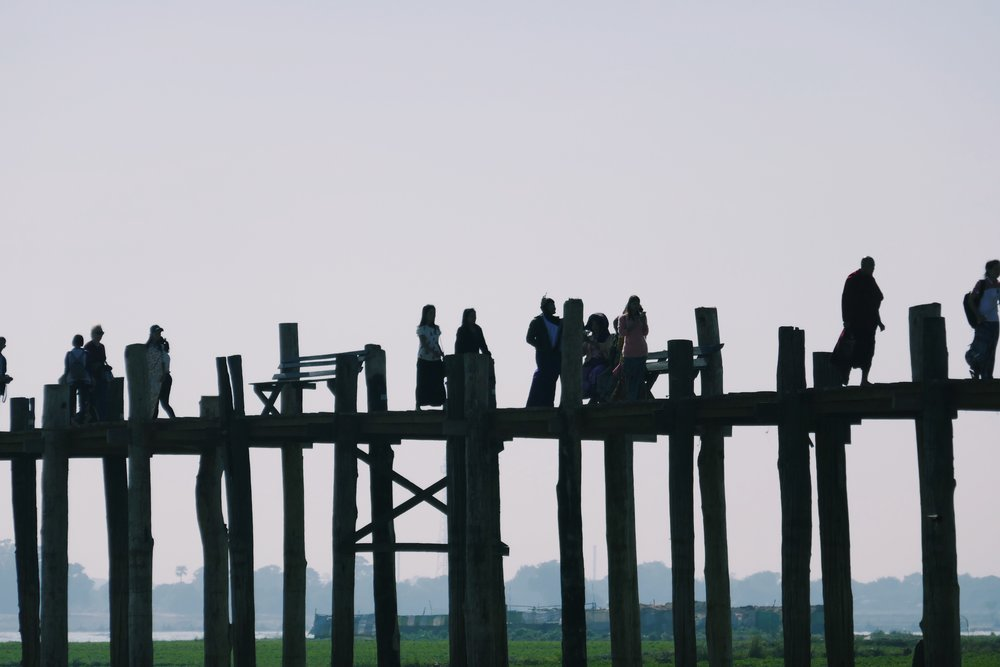 U Bein Bridge Travel Blog