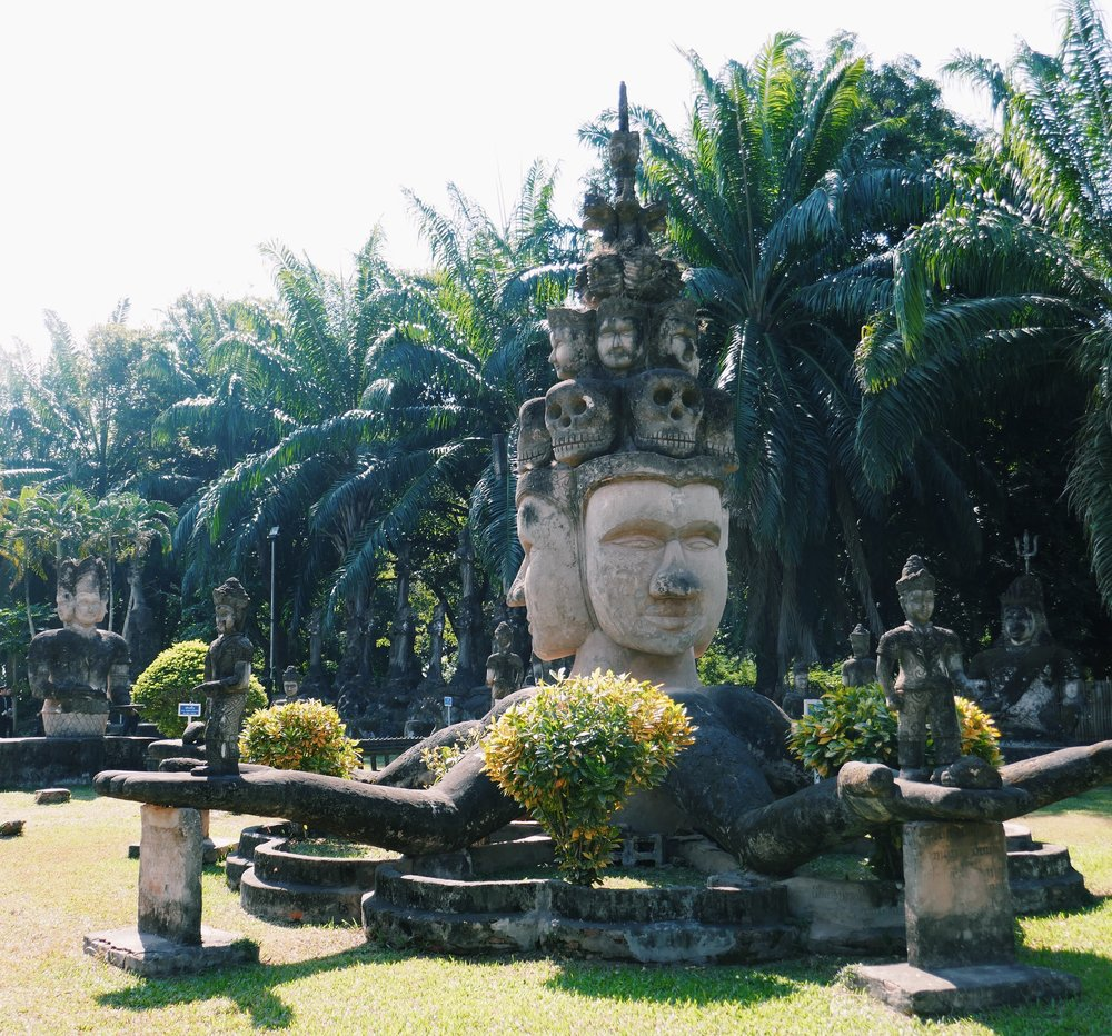 Buddha Park Travel Blog