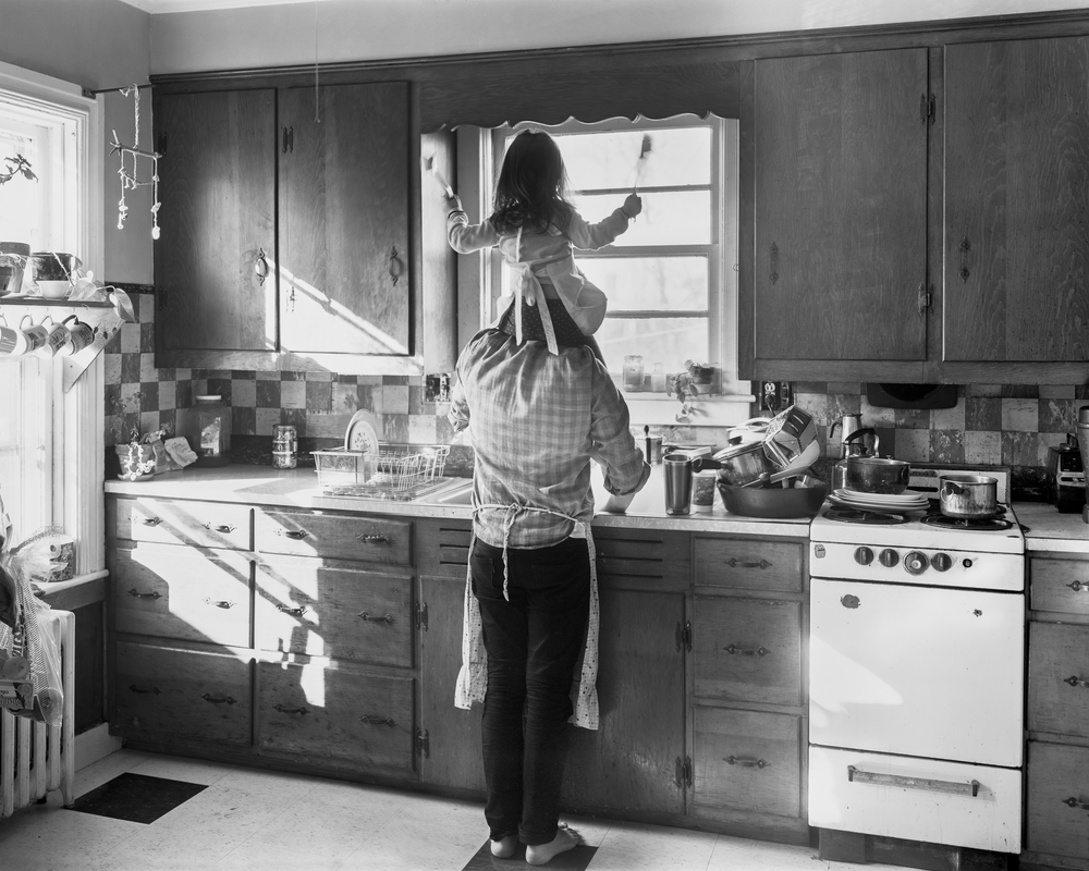 Washing Up , 2012 Archival pigment print mounted to rag board 19 x 23.75 in (48.26 x 60.33 cm)