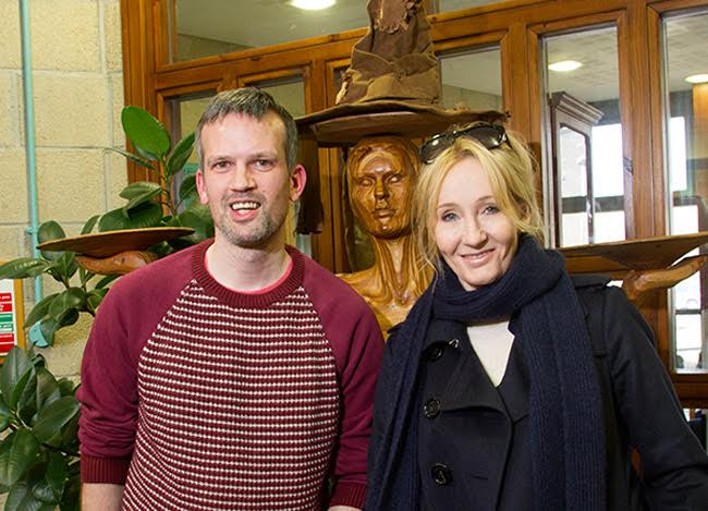 Stewart Bain and J.K. Rowling