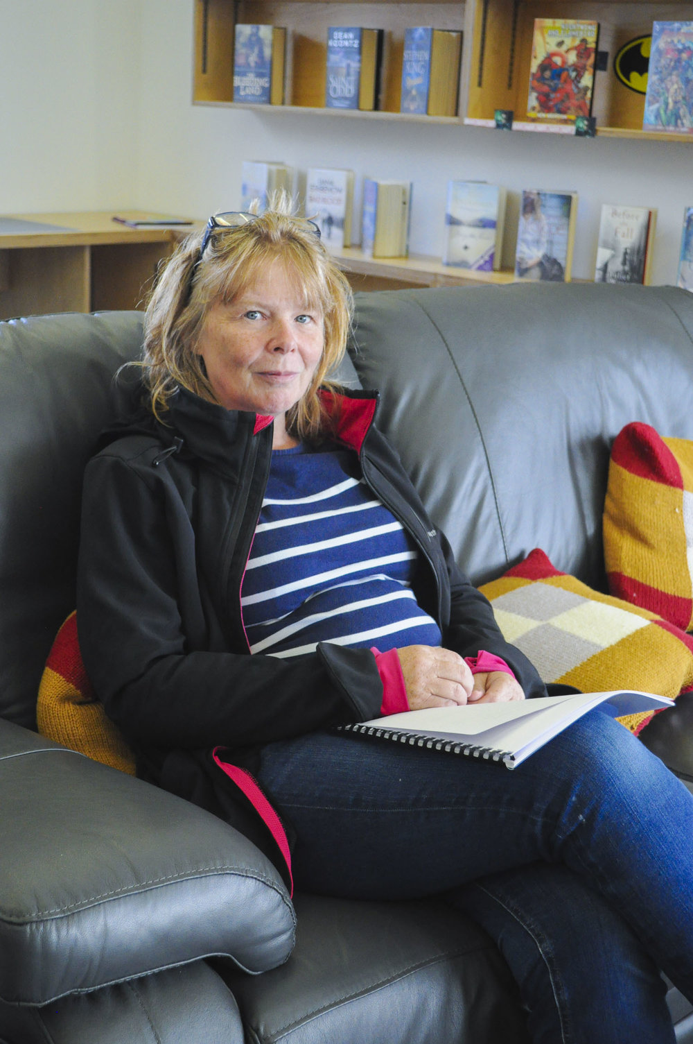 Sara Bailey at Stromness Library