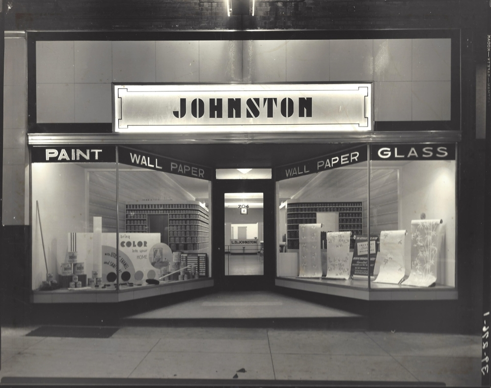 Johnston Paint and Decorating's old location in Columbia, MO.