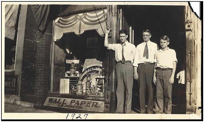 Columbia, MO: JPD's original location on Ninth Street.