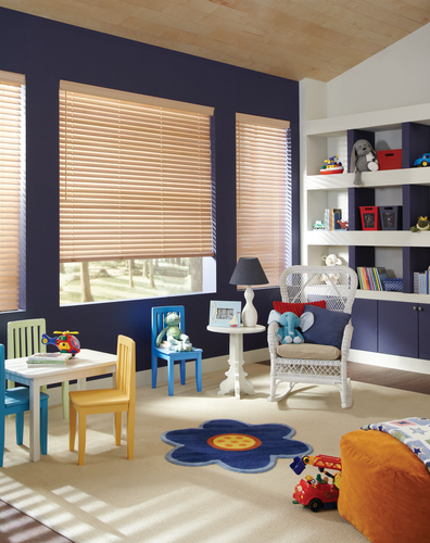 Parkland® Wood Blinds and Cornices