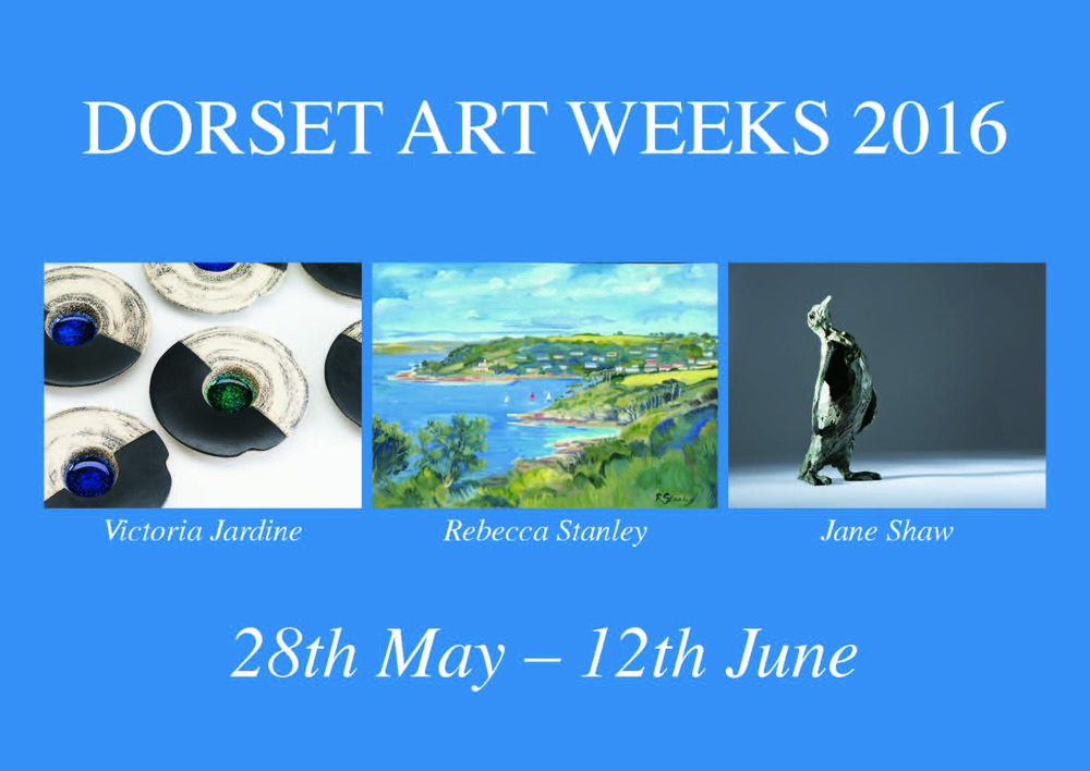 Invitation Card for Dorset Art Weeks - Front