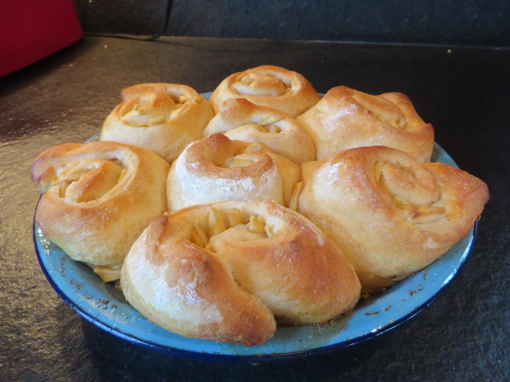 Bake at 350 degrees, 20-30 minutes