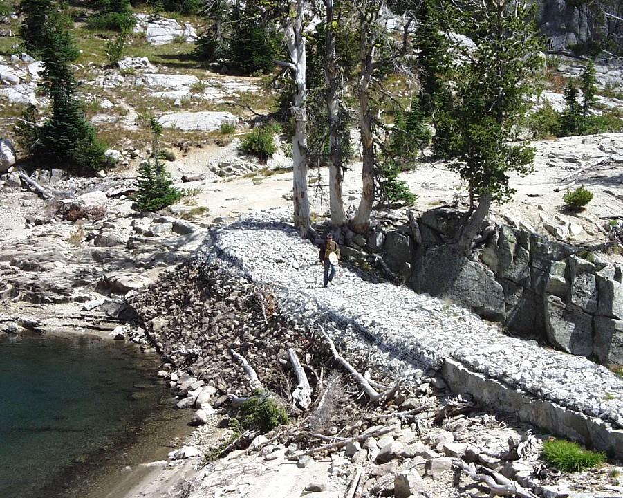 Dam at Eagle Lake
