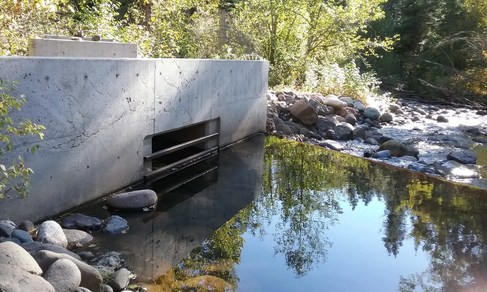 Flume Structure on Pine Creek