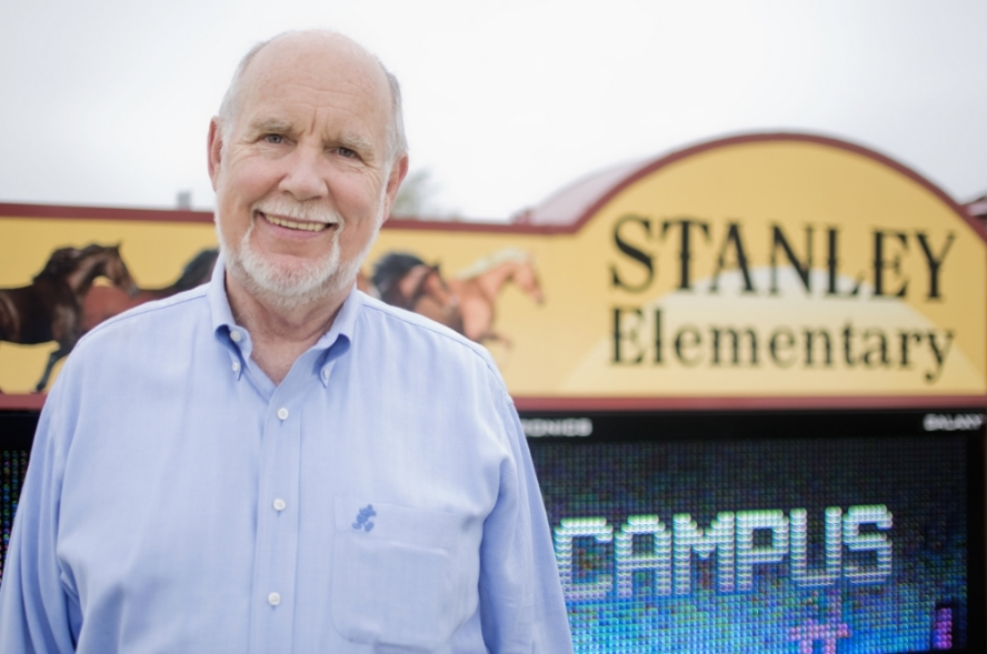 For more than 40 years, Stan Stanley has provided top quality signs across Katy, Houston and Texas. As a tribute to his commitment to mentoring youth and serving the community, a Katy ISD Elementary School was named after Stan in 2009