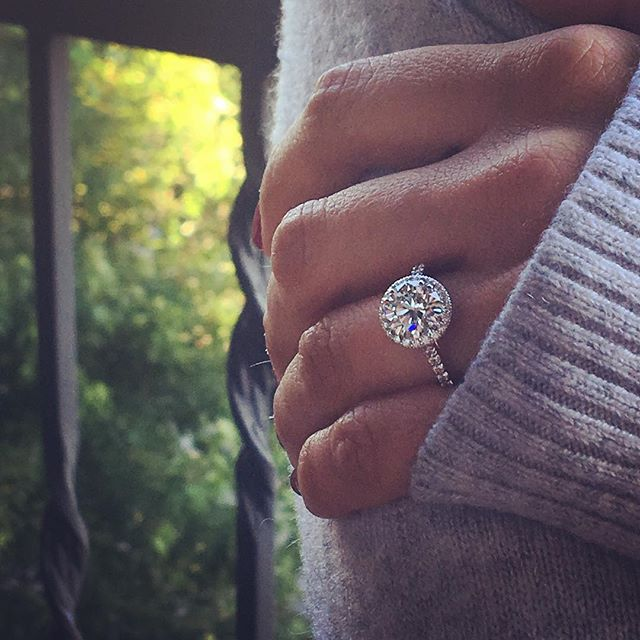Summer nights #diamondring #diamondconsultant #chicagojeweler