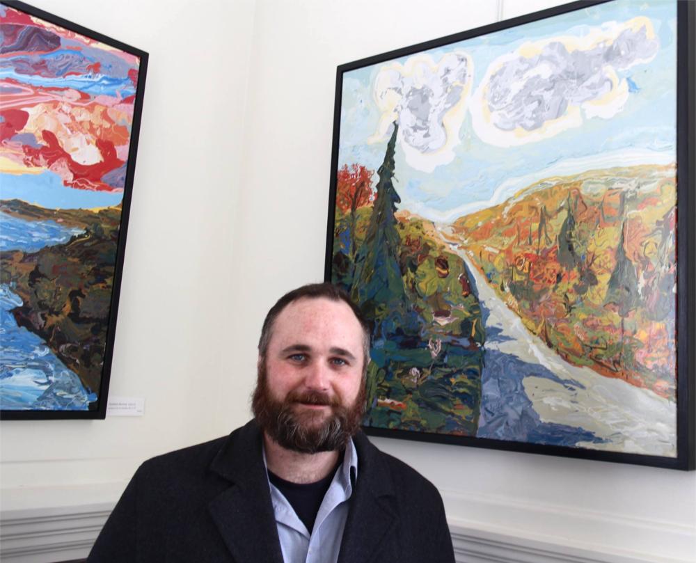 Oil paintings by Jon Byrer, Jackson Maine