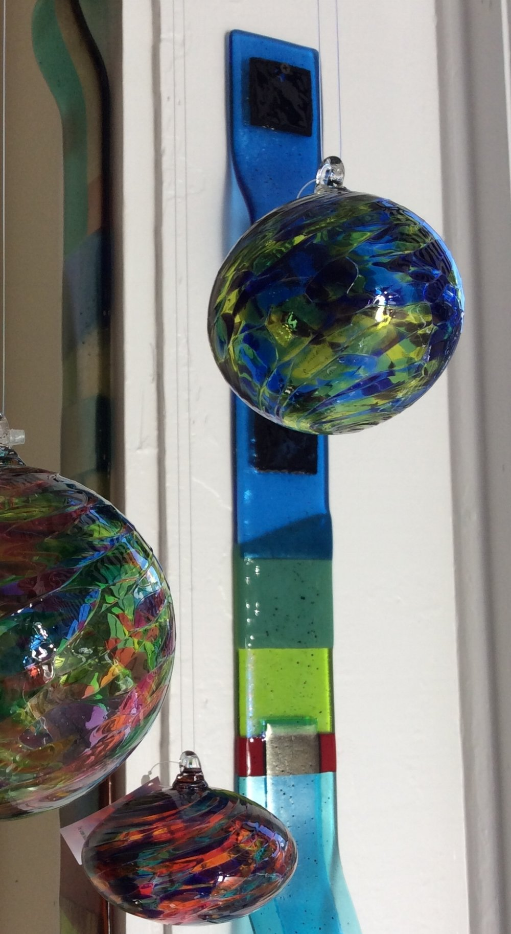 Glass Ornaments by Little River Hotglass