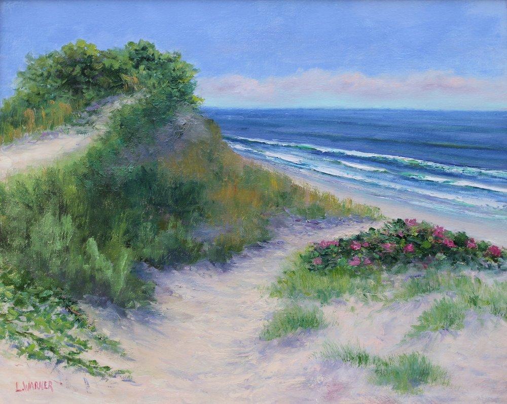 Laurie Warner oil paintings Wellfleet