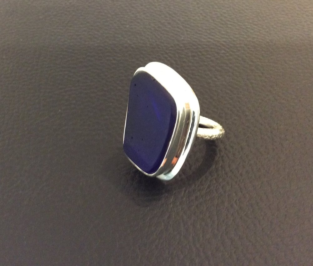 Kavi Cohen Glass Ring at Rachel K DeLong Gallery