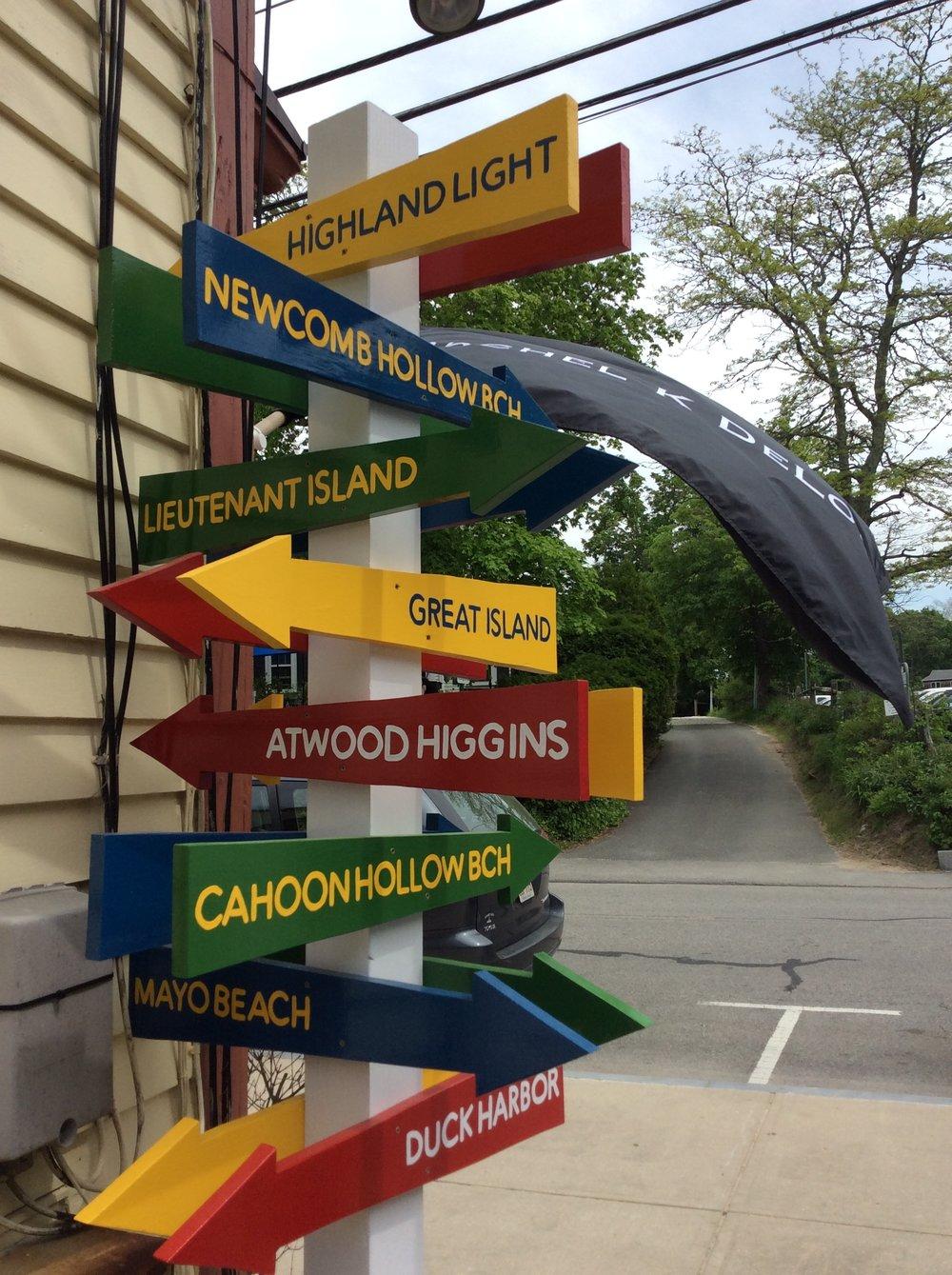 Rachel K DeLong Wellfleet Signpost.JPG