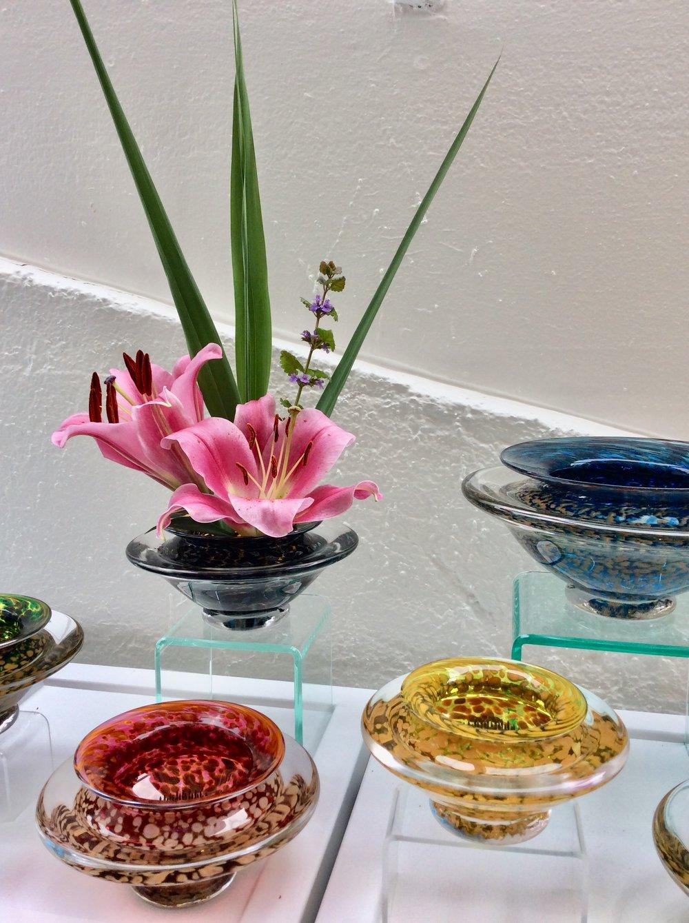 Ikebana by Danielle Blade at Rachel K DeLong Gallery