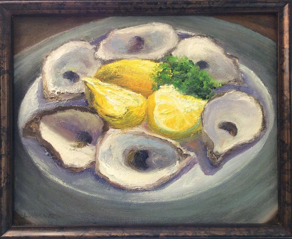 Wellfleet Oysters Laurie Warner