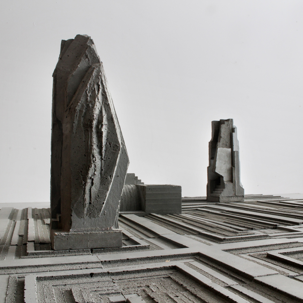 Artificial Landscape Series- Monolith 1, by David Umemoto